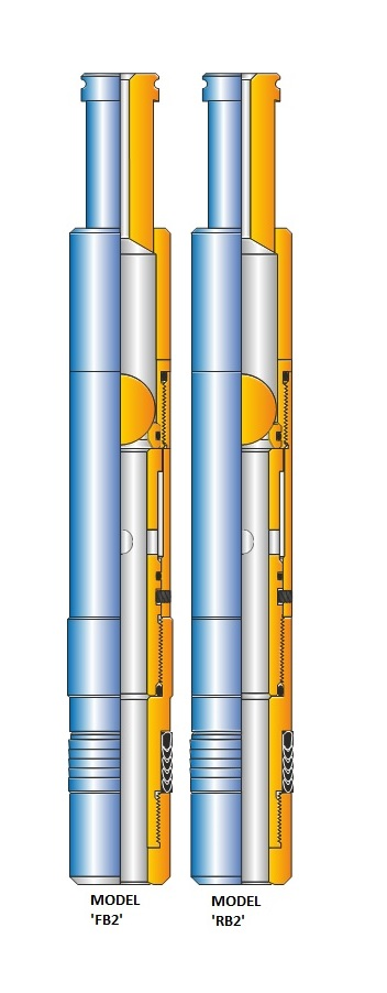 ACT MODEL 'FB-2' AND 'RB-2' EQUALIZING CHECK VALVES