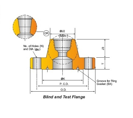 BLIND AND TEST FLANGES