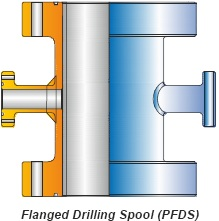 FLANGED DRILLING SPOOL