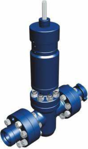 SURFACE SAFETY VALVE WITH HYDRAULIC ACTUATOR
