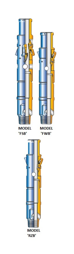 ACT MODEL 'B' DOWNHOLE INSTRUMENT HANGERS