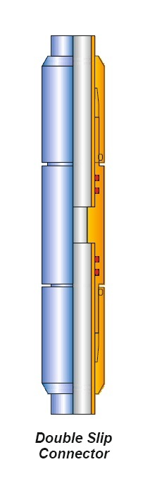 DOUBLE SLIP CONNECTOR