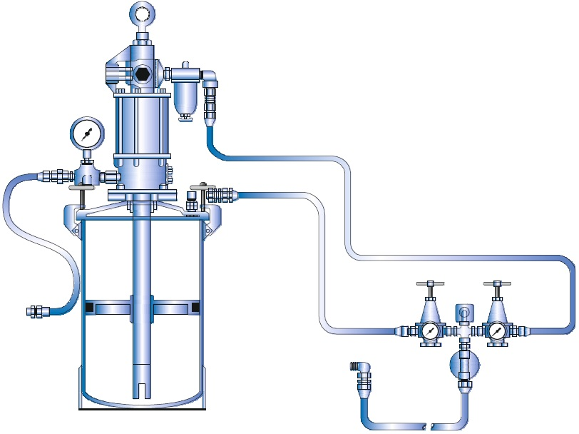 GREASE INJECTION SUPPLY SYSTEM