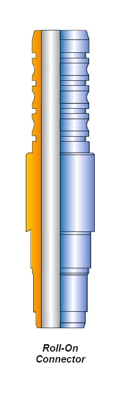 ROLL-ON CONNECTOR